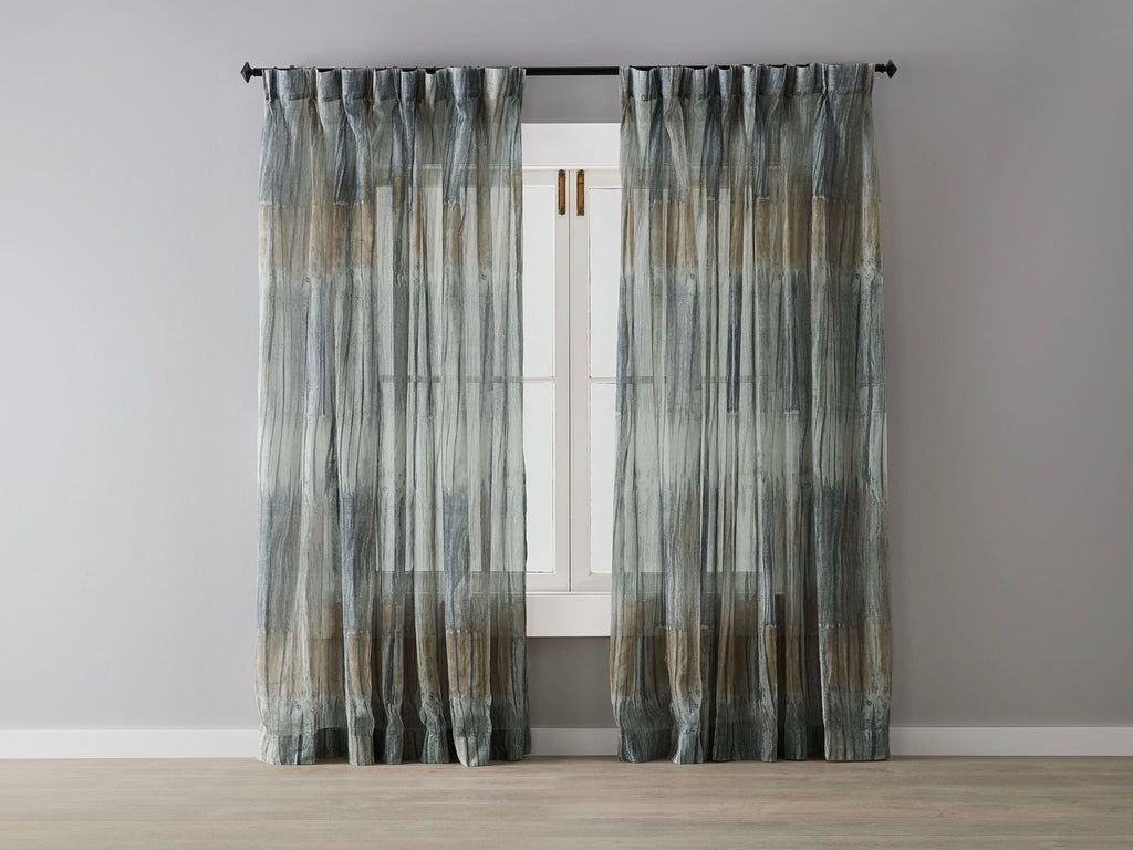Golden Birch Sheer Curtain - only one panel in stock