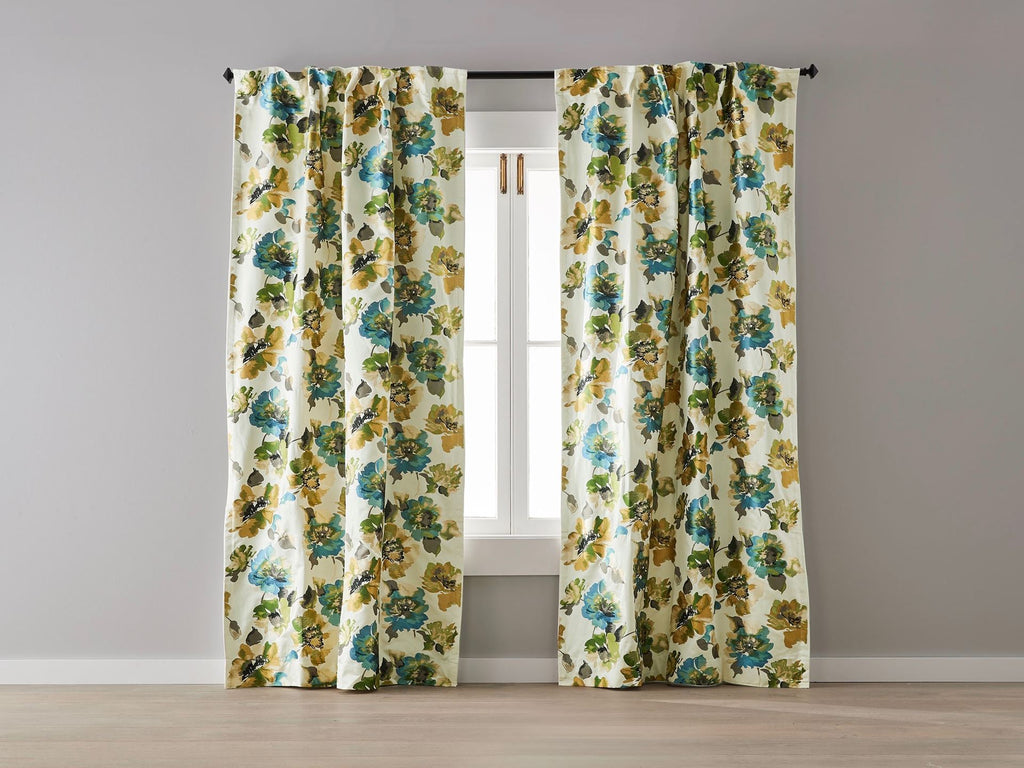 Northwood Embroidered Blockout Curtain
