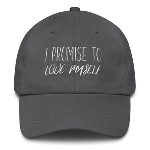 I PROMISE TO LOVE MYSELF Cotton Cap