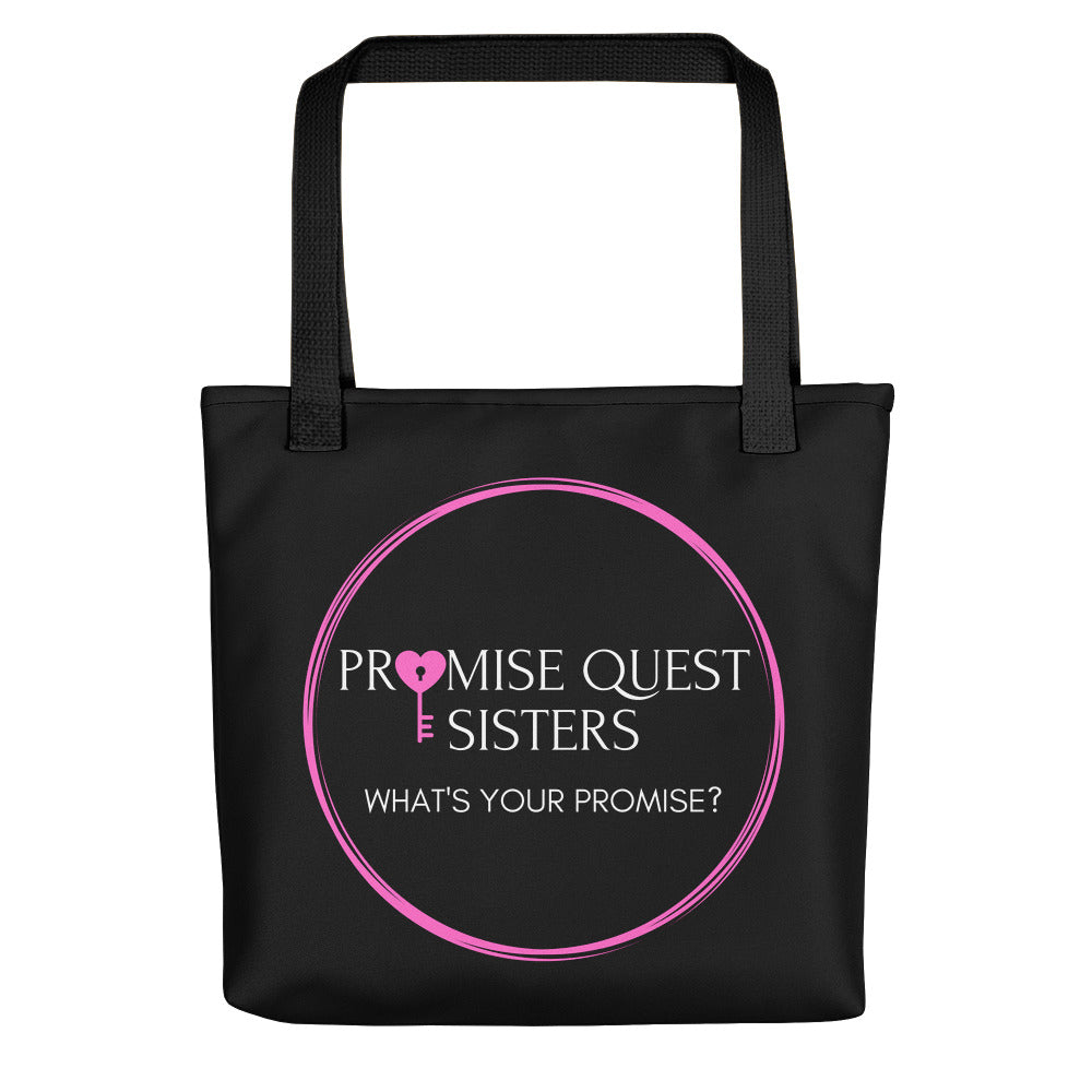 Official, Promise Quest Sisters Tote bag