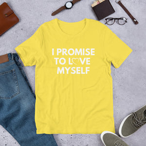 Adult Short-Sleeve I PROMISE TO LOVE MYSELF™,  T-Shirt
