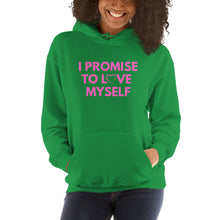 Load image into Gallery viewer, Hooded I PROMISE TO LOVE MYSELF™ Sweatshirt