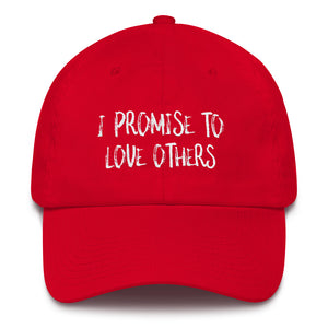 I PROMISE TO LOVE OTHERS Cotton Cap