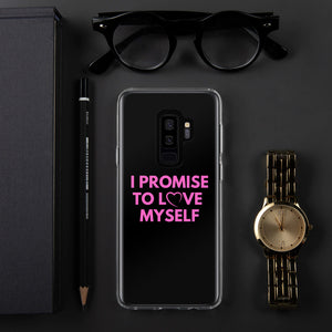 """I Promise to Love Myself"" Samsung Phone Case"