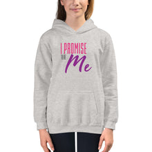 "Load image into Gallery viewer, Kids ""I PROMISE TO BE ME"" Hoodie"