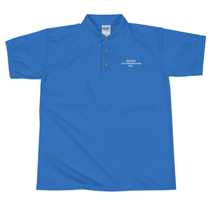 ED CONTRACTOR INC. Embroidered Polo Shirt