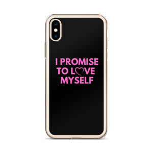 """I Promise to Love Myself"" iPhone Case"