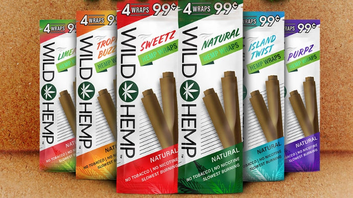 Wild Hemp's Hemp Wraps - A New Way to Smoke