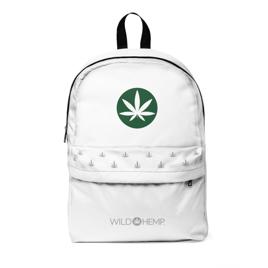 Wild Hemp white backpack