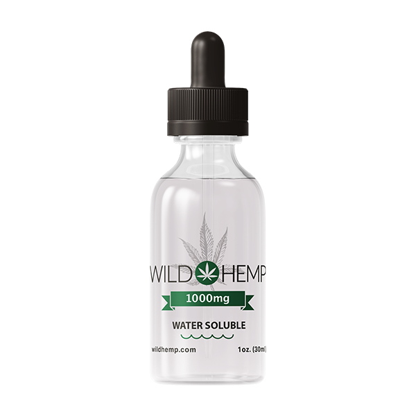1000mg Water Soluble CBD Tincture