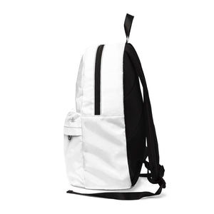 Wild Hemp White backpack turned left