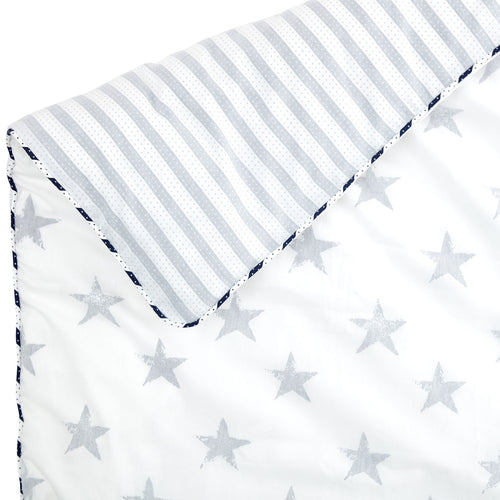 Somerset Star Blue Duvet Cover