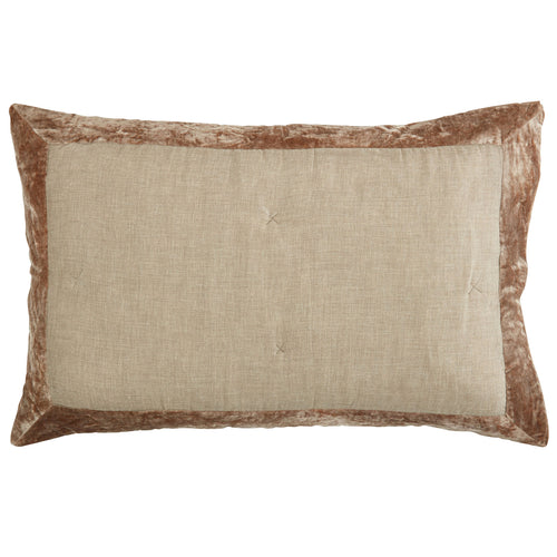 Somerset Star Stone Velvet Trim Pillowcase