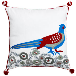 Birdspotting Pheasant Cushion