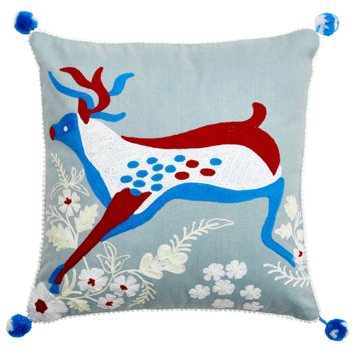 Birdspotting Stag Cushion
