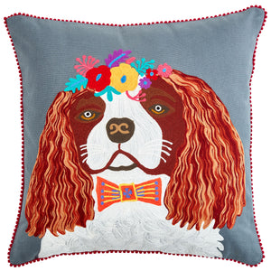 Pignut Pets King Charles Cushion