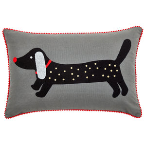Pignut Pets Spotty Dachshund Cushion
