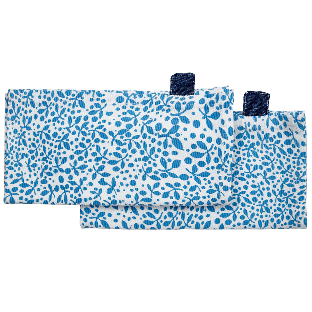 Minsmere Blue Napkins (Set of 2)