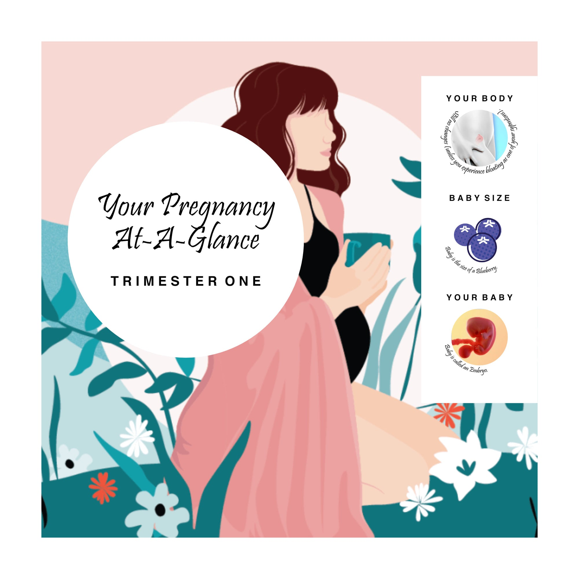 Preview of Your Pregnancy Cards Trimester One