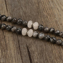Load image into Gallery viewer, Labradorite and Jade Mala