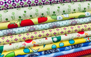 Quilting cotton stack for kids sewing projects