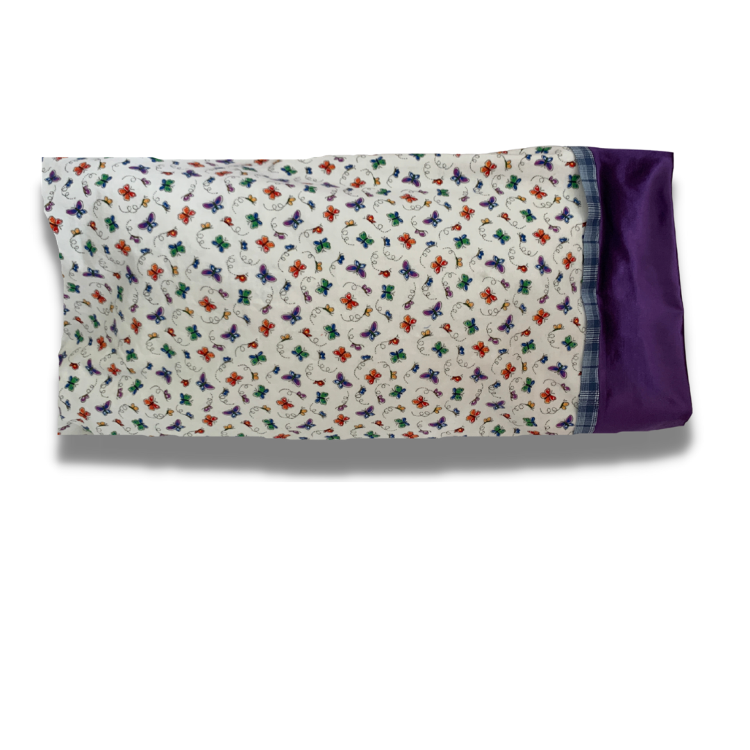 DIY sewing kit french seam pillowcase learn to sew