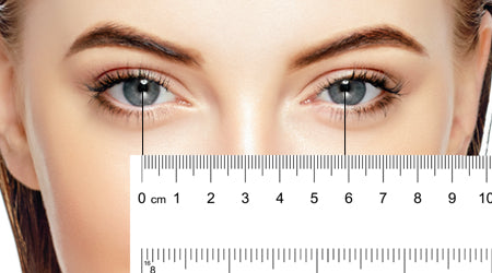 Women's Pupillary Distance Example