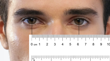 Men's Pupillary Distance Example