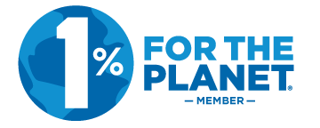 We're a proud member of 1% for the Planet