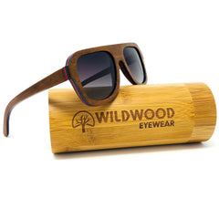 Men's Maple Wood Aviator Polarized Sunglasses - Wildwood Sunglasses Canada