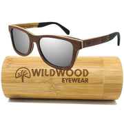 The Adventurer Silver Mirror - Wildwood Eyewear | Sunglasses Canada