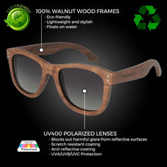 The Classic Walnut - Wildwood Eyewear | Sunglasses Canada