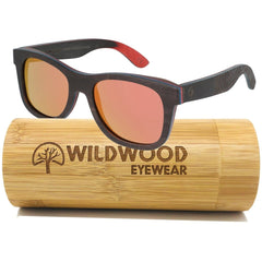 The Explorer Red Mirror - Wildwood Eyewear | Sunglasses Canada