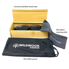 The Gambler Dark Grey - Wildwood Eyewear | Sunglasses Canada