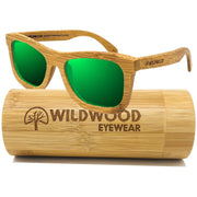 The Original (Green Mirror Lenses) - Wildwood Eyewear | Sunglasses Canada