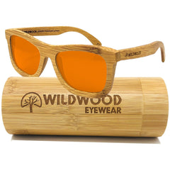 The Original (Orange Mirror Lenses) - Wildwood Eyewear | Sunglasses Canada