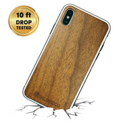 Ultra Protective Slimline Solid Wood Phone Case for iPhone X/XS | Recycled Materials - Wildwood Eyewear | Sunglasses Canada