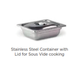 Zero Stainless Steel Vacuum Steel Container