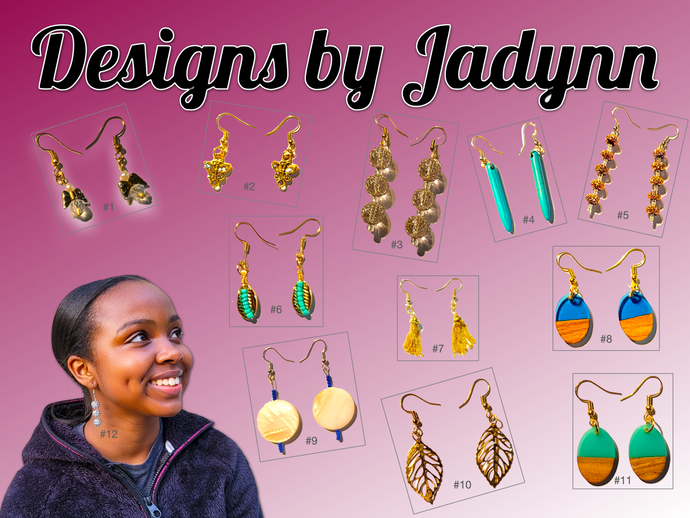 Designs by Jadynn (Shipping Included)