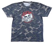 BE UP Camouflage Logo T Shirt