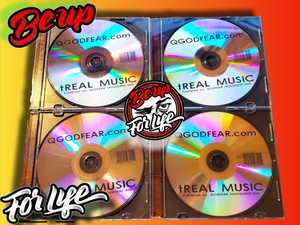 "QGODFEAR.com Presents ""tREAL MUSIC"", HARD COPY cd (FREE SHIPPING)"