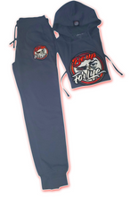 Load image into Gallery viewer, Women's Shale Blue French Terry Jogger (FREE SHIPPING, USA Only)