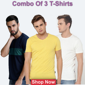 Solid Jack And Jones T-shirts.