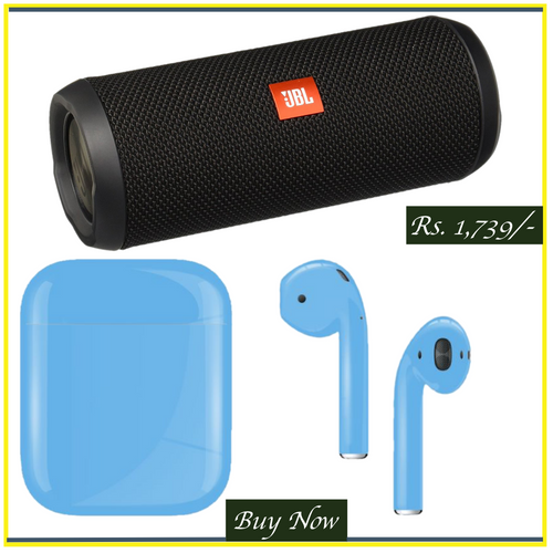 Combo of Wireless Speaker & Earbuds