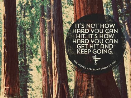 It's Not How Hard - Motivational/Inspirational Wallpaper (Downloadable JPEG)