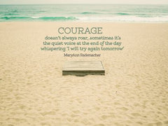 One of the Most Courageous - Motivational/Inspirational Wallpaper (Downloadable JPEG)