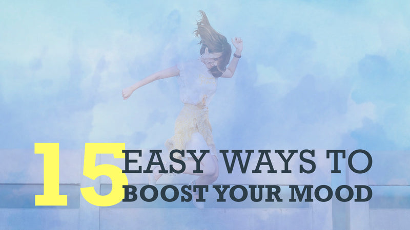 15 Easy Ways to Boost Your Mood – Slide Deck Presentation - (Downloadable – PDF)