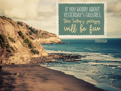 If You Worry About - Motivational/Inspirational Wallpaper (Downloadable JPEG)