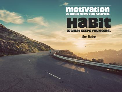 Motivation - Motivational/Inspirational Wallpaper (Downloadable JPEG)