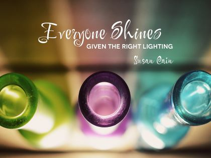 Everyone Shines - Motivational/Inspirational Wallpaper (Downloadable JPEG)